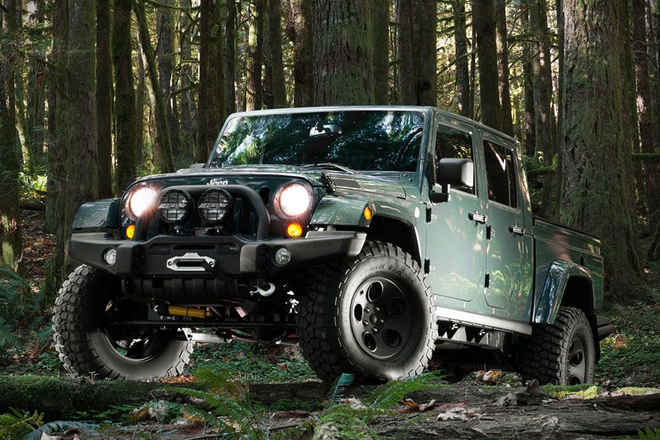 Filson Edition AEV Brute Double Cab Jeep (With images
