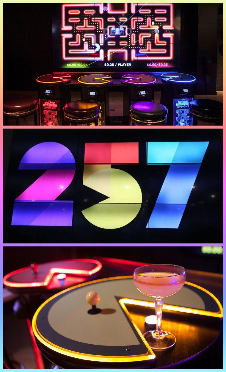 PacMan Battle Royale 4 Player Arcade Area Namco's Level