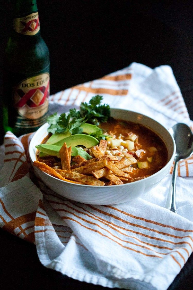 Seriously the best chicken tortilla soup ... Made it yesterday and loved the flavors! — passports & pancakes