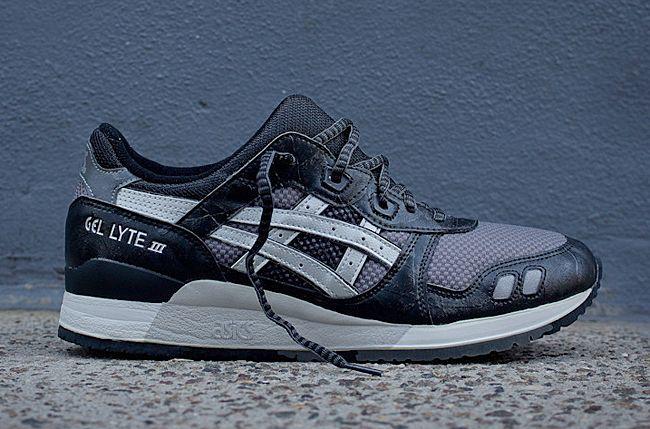 2d35378b152f Asics Gel Lyte 3  Black Grey    Sneakers   Pinterest   Asics gel ...