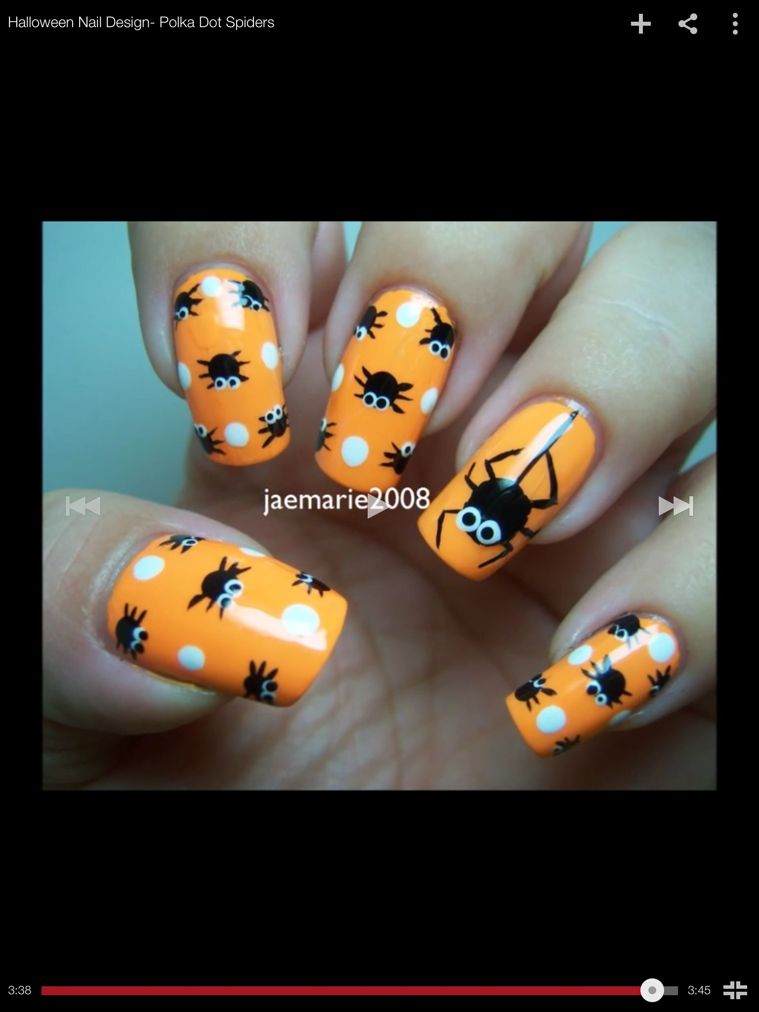 Halloween Nail Designs Pinterest Papillon Day Spa