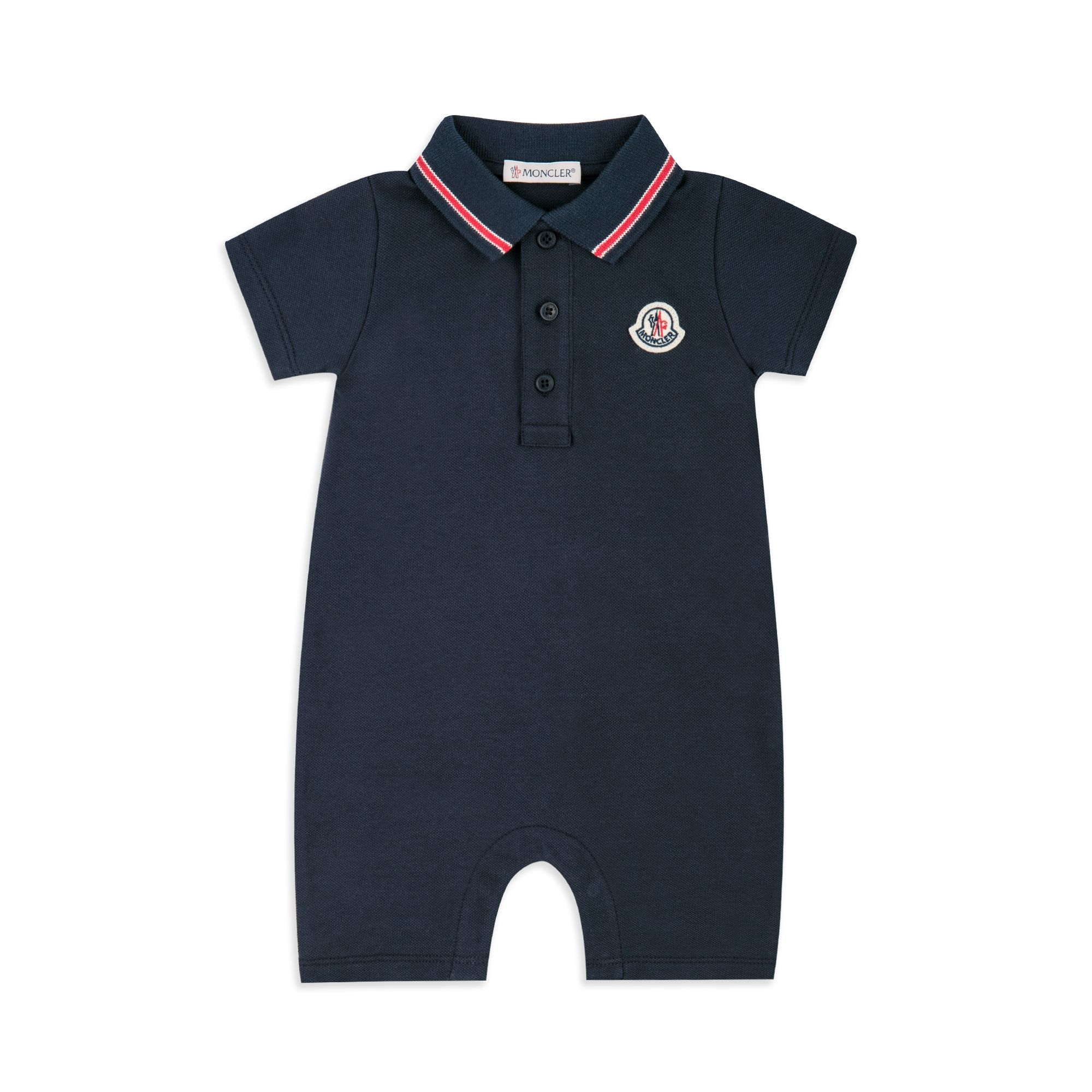 a42dc8ae0 Baby Boys Tipped Polo Shortall - Navy