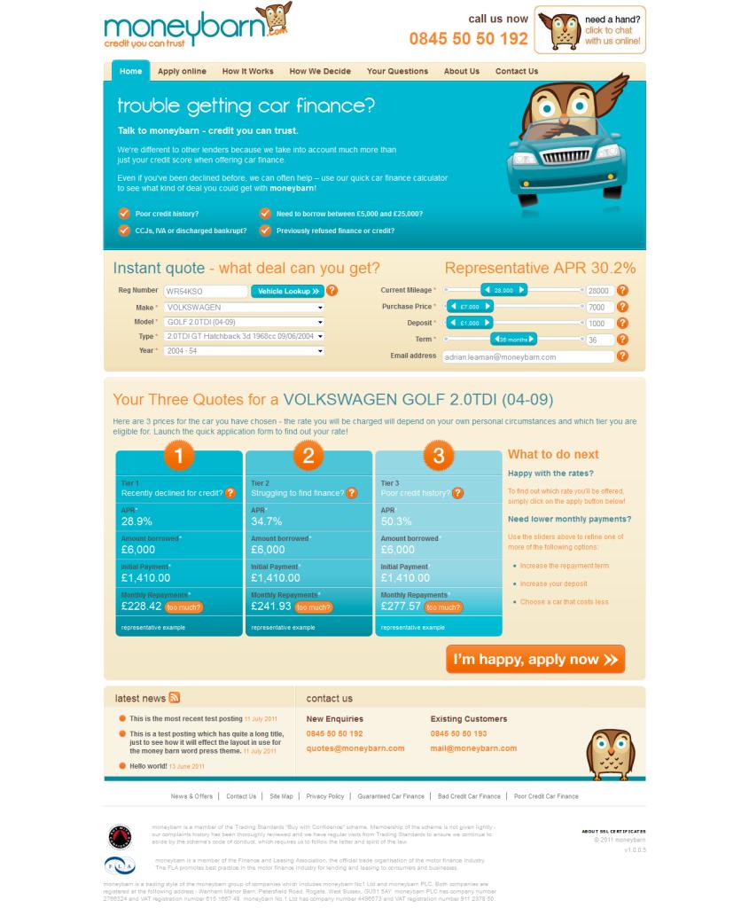 Solution For Car Finance Calculator In Moneybarn.com Download Photos ...