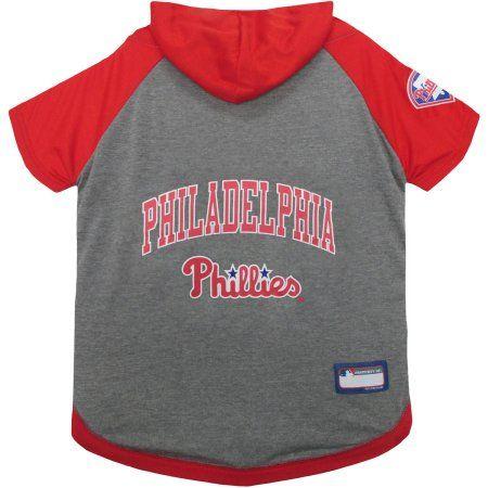 half off 2b3df c349e Pets First MLB Philadelphia Phillies Hoodie Tee Shirt ...