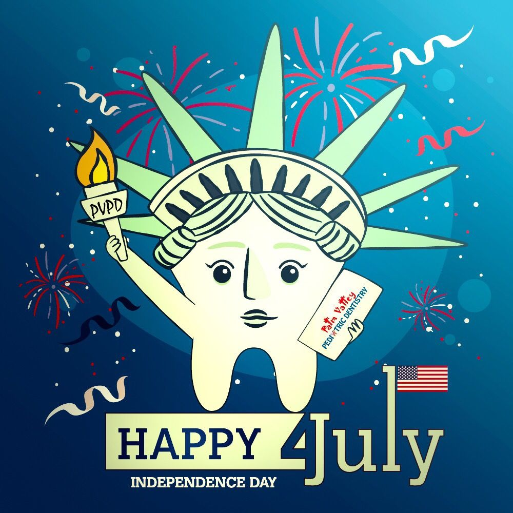 LET THAT SMILE shine as bright as the fireworks! Happy