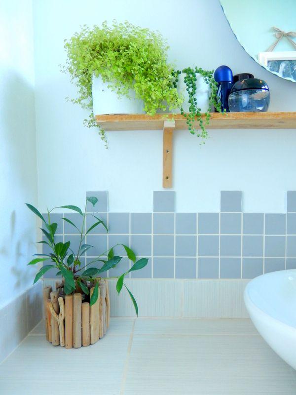 Mettre des plantes dans sa salle de bain deco salle de bain deco salle de bain et salle - Plante pour salle de bain ...