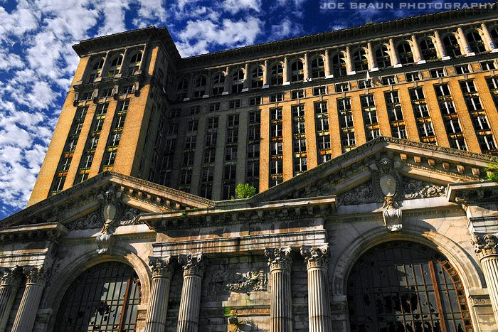 Michigan Central Station (Michigan Central Depot), Detroit, Michigan