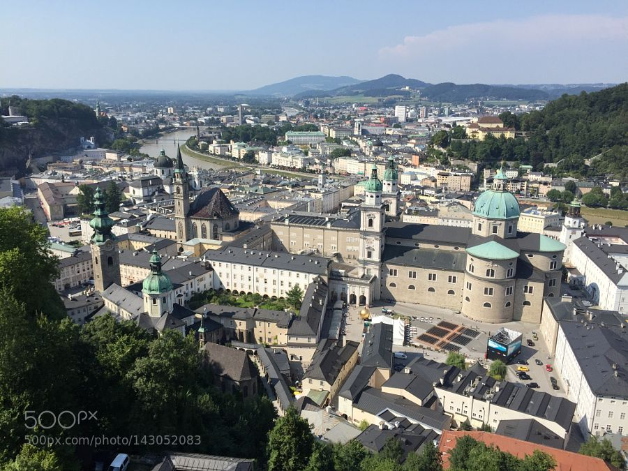 Popular on 500px : Festung Hoensalzburg by hiroshisongs