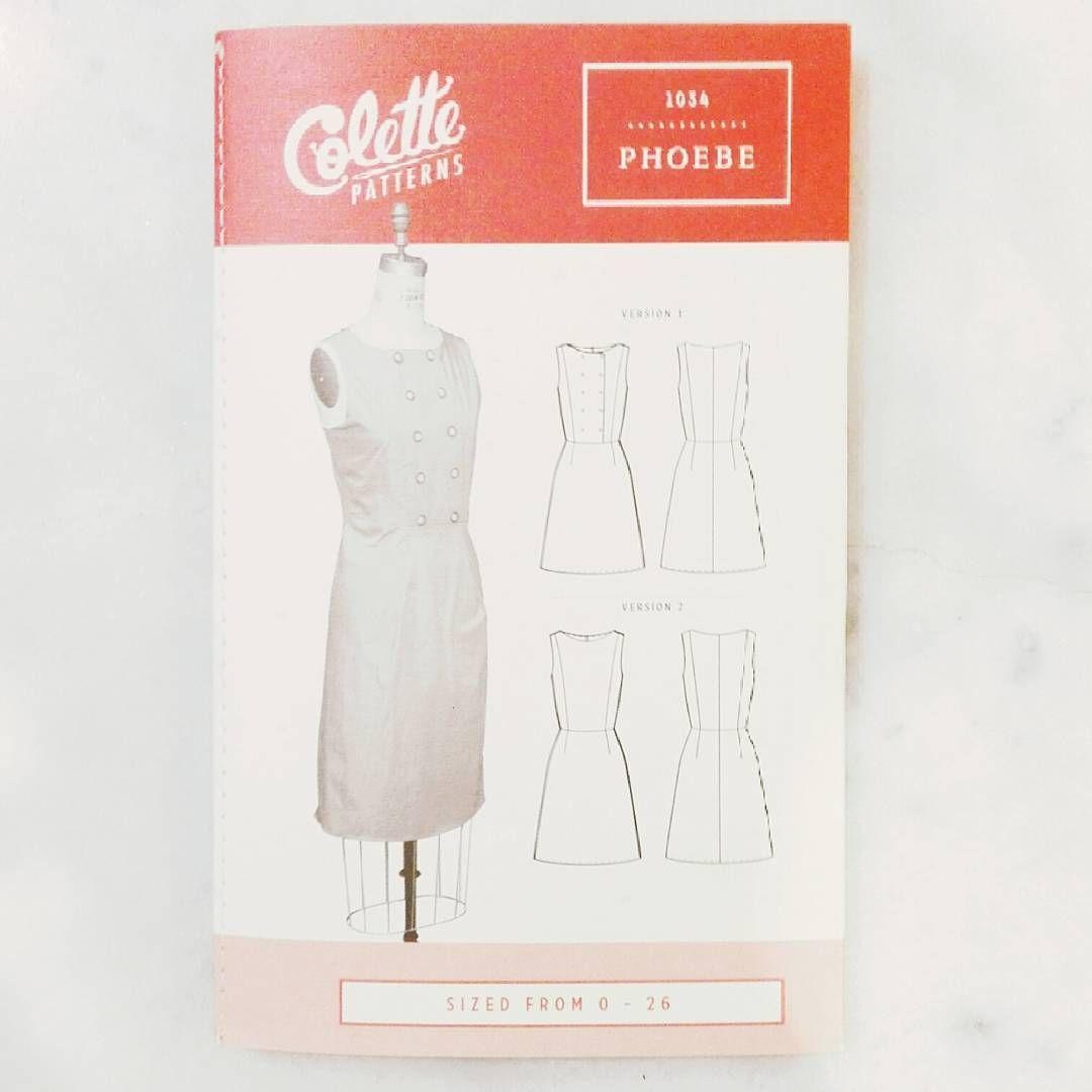 New: le patron Phoebe de Colette Patterns! Disponible en boutique et ...