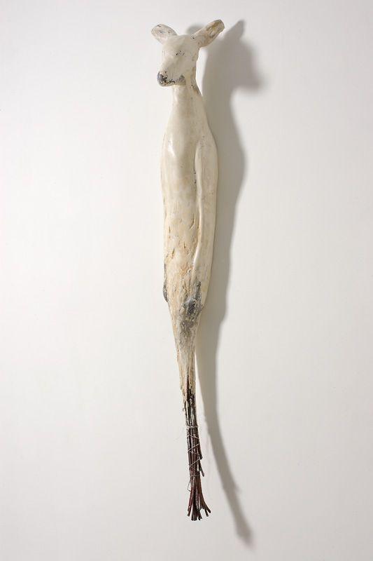 """Oh Deer"" - Jane Rosen - Sculpture - Mei Mei Series, 2007"