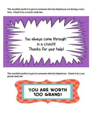 100 grand candy bar sayings