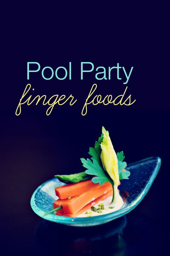 Crowd-pleasing pool party food that's easy to make and outdoor-friendly.