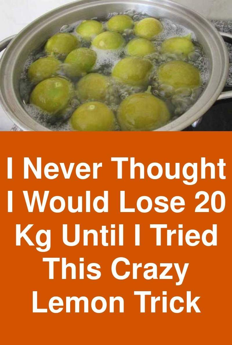I Never Thought I Would Lose 20 Kg Until I Tried This Crazy