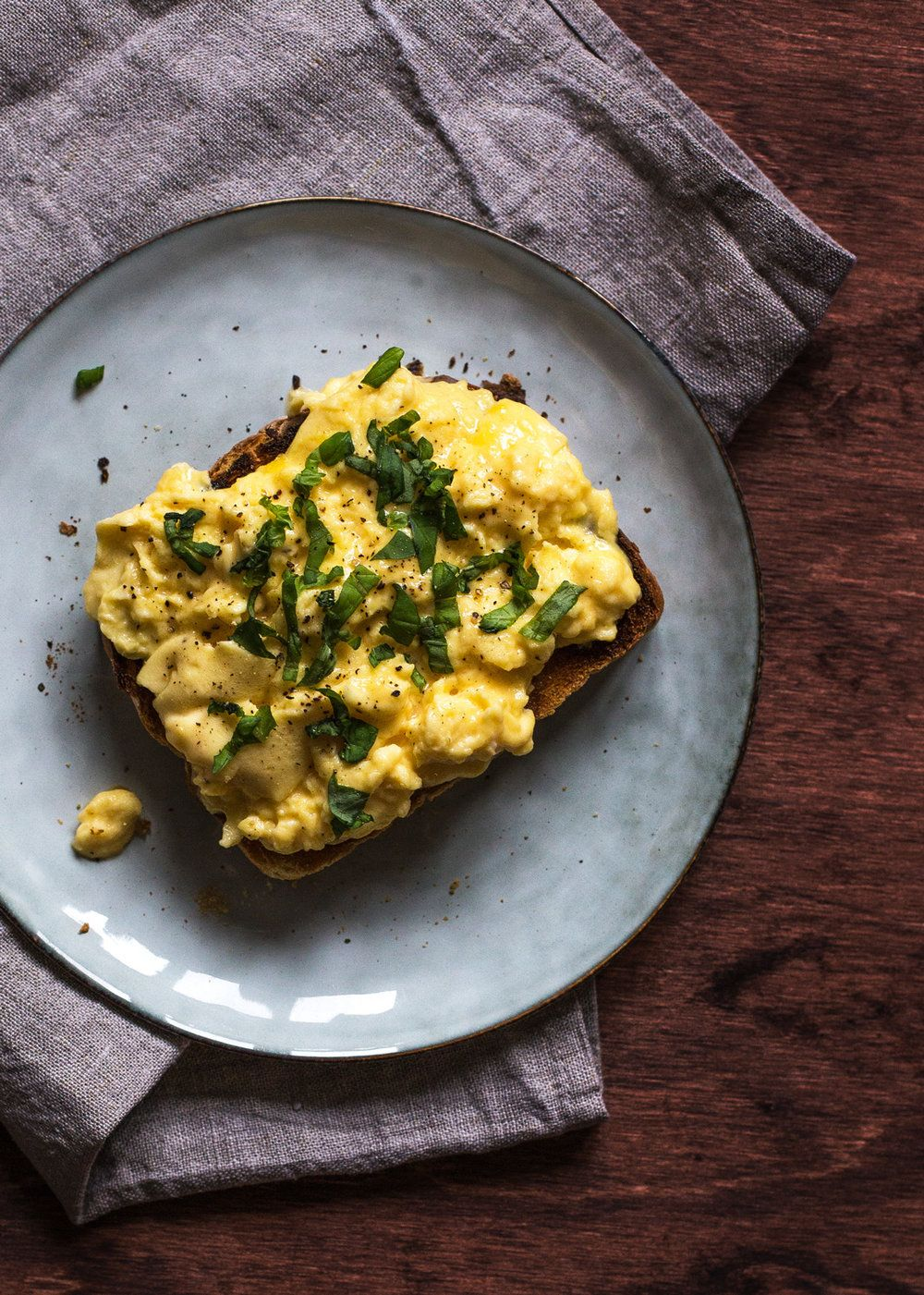Scrambled eggs | Kimberley Chan Photography