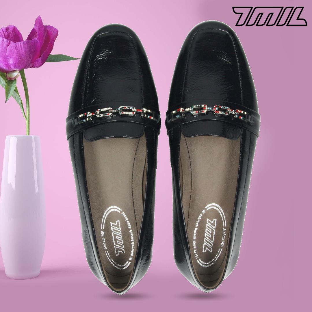 7mil Mokasyny 1219152t Bnp04 Skora Naturalna Loafers Shoes Fashion
