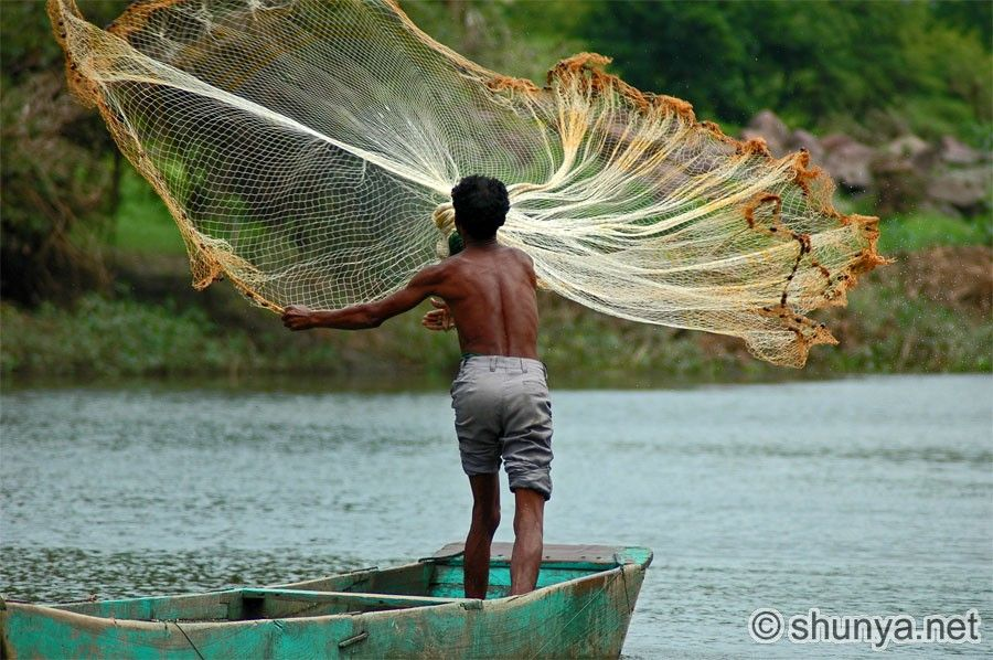 Weighted Indian Fisherman S Net Pictures Photos Of People Of