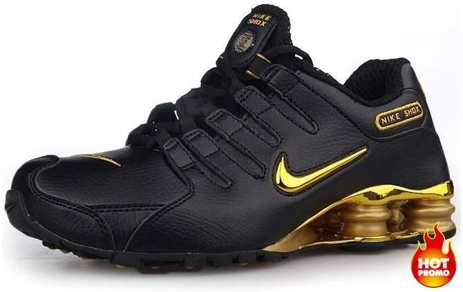 official photos 3421f f9afb asneakers4u.com Mens Nike Shox NZ 309 Black Gold