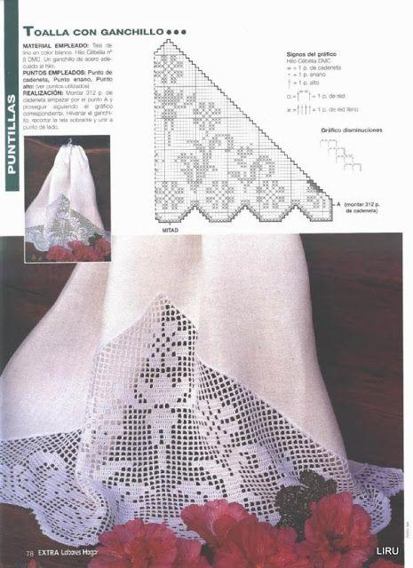 Puntillas crochet 2 - Liru labores textiles - Веб-альбомы Picasa