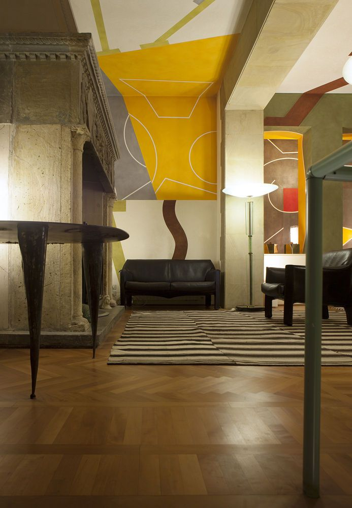 Mario Bellini Apartment Milan Designers At Home Logo Win