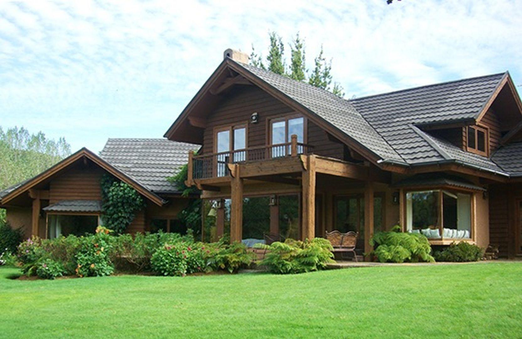 Casa de campo madera pinterest casa de campo de for Casas de campo prefabricadas