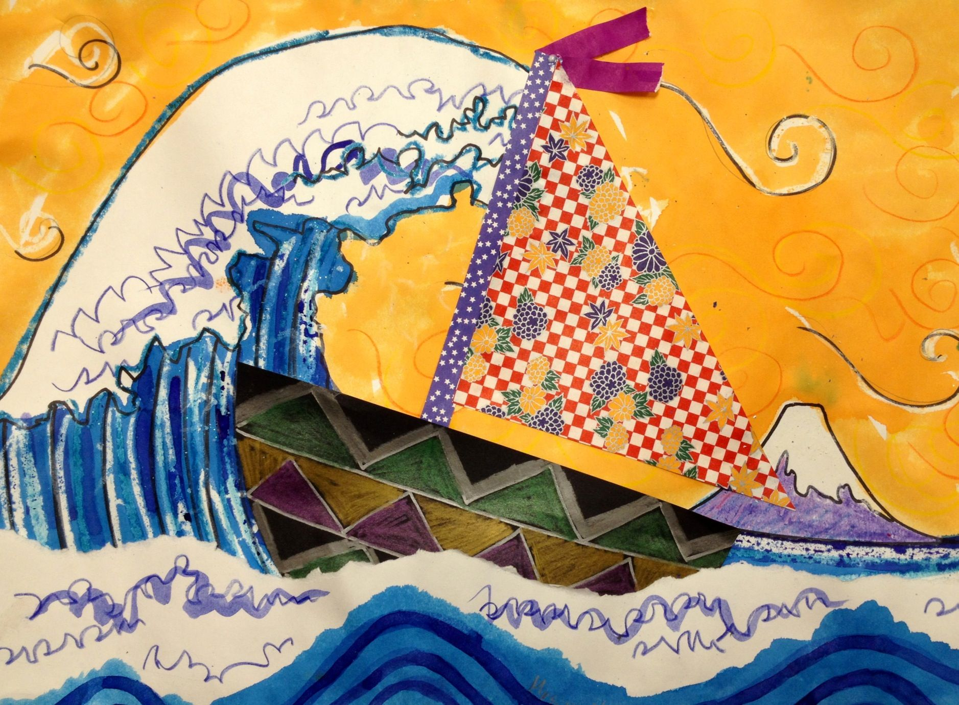 Crafts for highschool students - Find This Pin And More On Japanese Art Projects For Kids