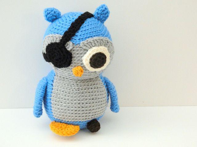 How to crochet a pirate owl | Como tejer, Piratas y Patrón gratis