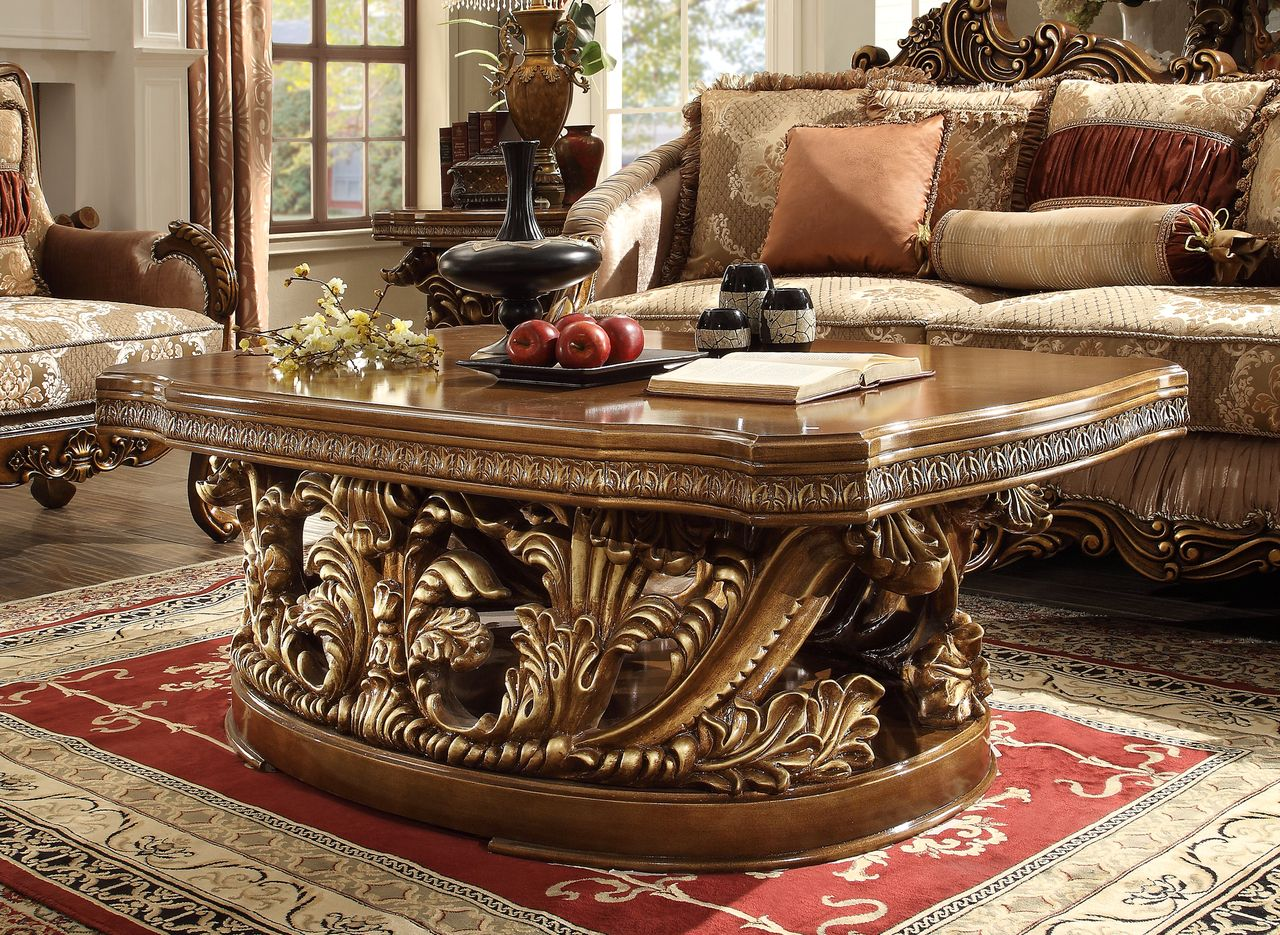 Homey Design Hd 8018 Coffee Table For 990 Traditional Coffee Table Coffee Table Coffee Table Setting [ 935 x 1280 Pixel ]