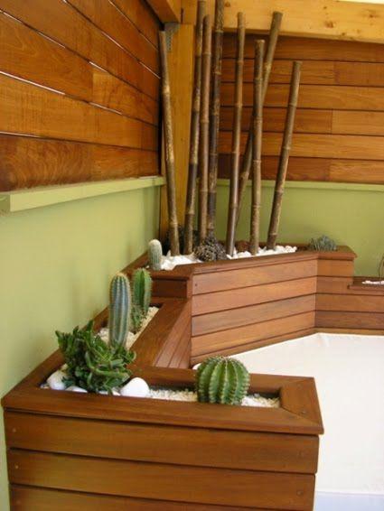 Cactus y bambu si se llevan <3 | decoracion bambu | Pinterest ...