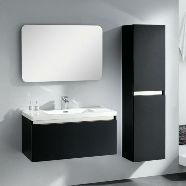 Shallow bathroom furniture: sensible suggestions   Shallow bathroom furniture: sensible suggestions