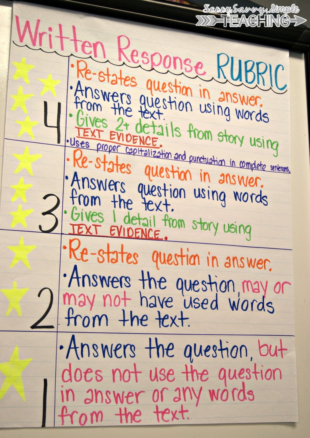Improving Written Comprehension And Responses 2 Freebies