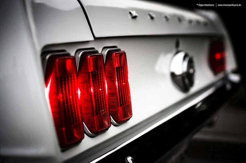 1969 Mustang Detail   by Dejan Marinkovic Photography