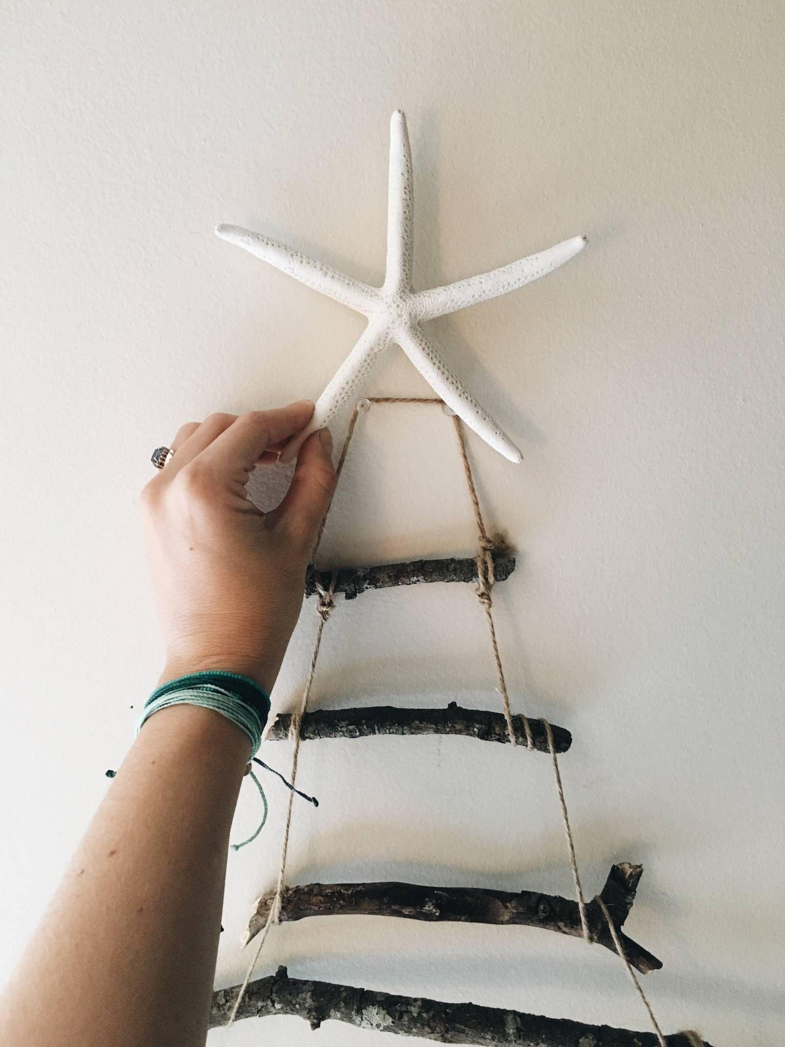 Diy Pura Vida Twig Christmas Tree