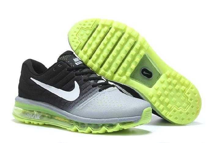 check out 3d863 184fc https   www.sportskorbilligt.se  1830   Nike Air Max 2017 Dam Herr  Fluorescent Light Svart Grön Grå SE332793xnnKC