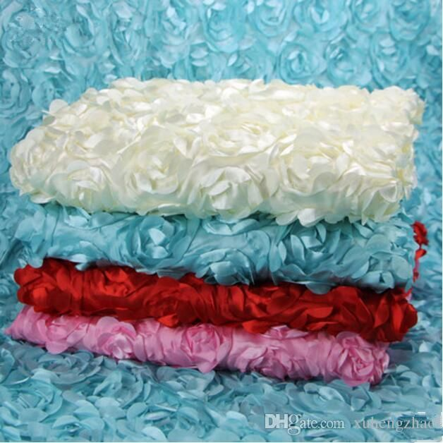 3M6M Milk White Wedding Backdrop Curtains Lake Blue Swag With Silver Sequin Fabric For Centerpieces Decor Supplies