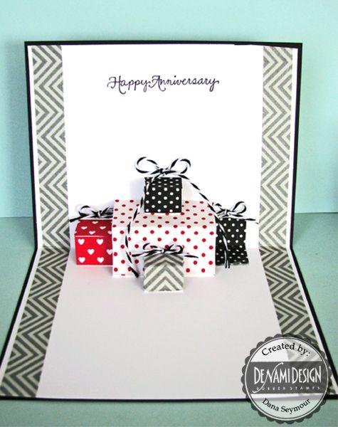 Denami Design Blog Washi Tape Pop Up Card Tutorial By Dana Birthday Card Pop Up Diy Pop Up Cards Card Tutorial