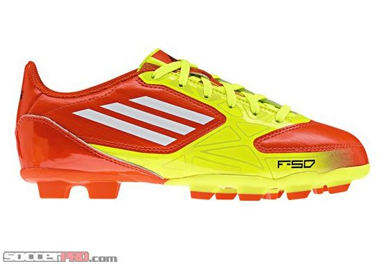 5f199a8e3 adidas Youth F5 TRX Firm Ground Soccer Cleats - High Energy with  Electricity... 26.99