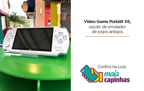 Video Game Portátil X6