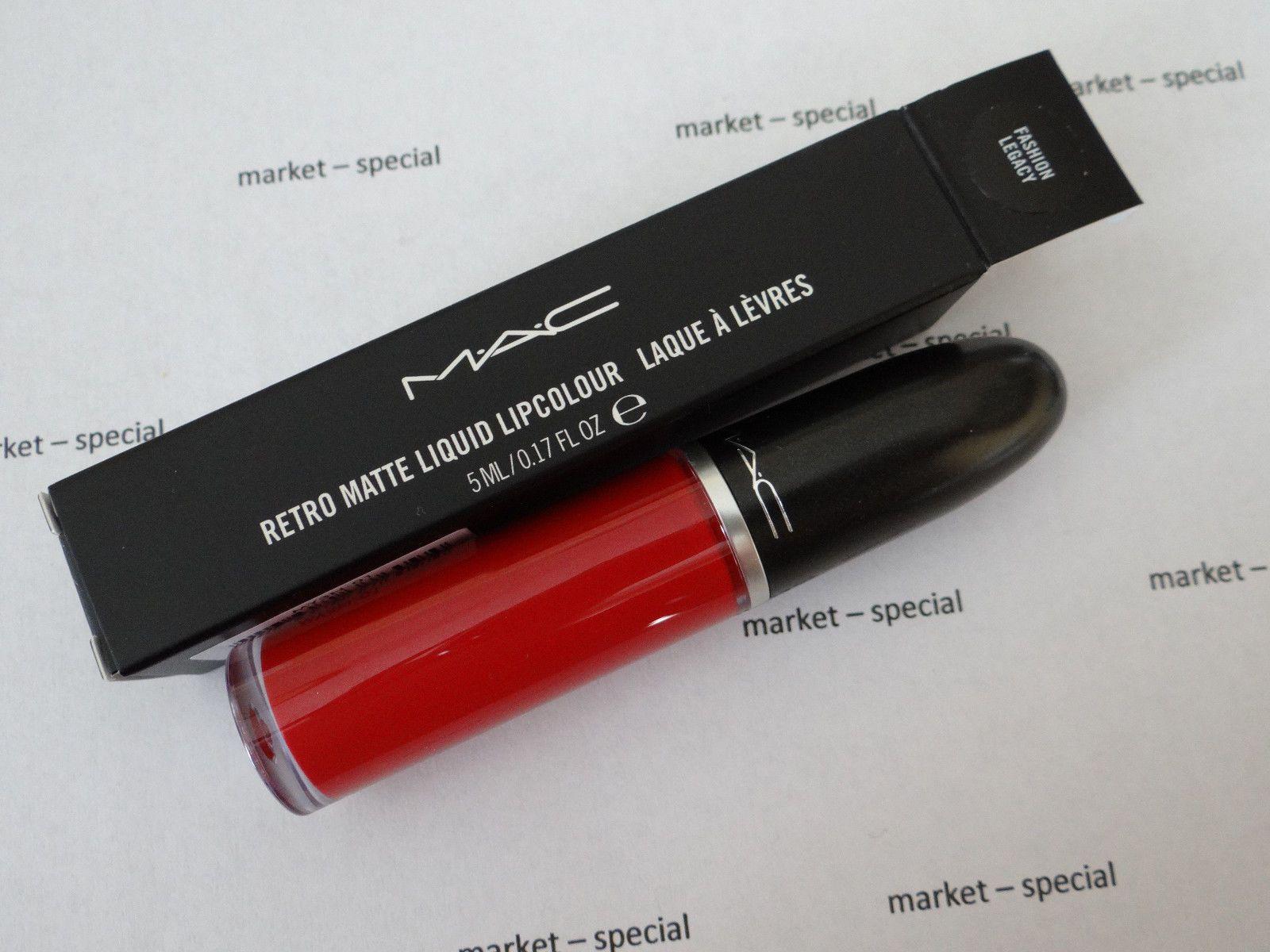 Mac Retro Matte Liquid Lipcolor Fashion Legacy Liquid Lipstick Nib Last1 Mac Liquid Lipstick Mac Lipstick Shades Mac Retro Matte