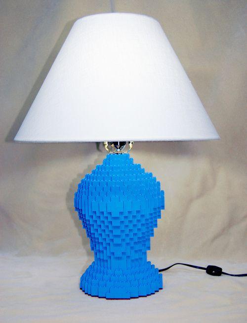 Kockamaniahu Lego Lamp Legos Lamp