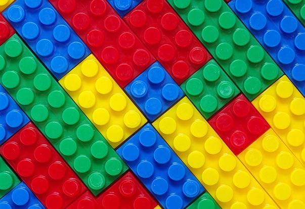 Lego Wall Mural | Abstract Wall Murals | Wallpaper Ink | lego ideas ...