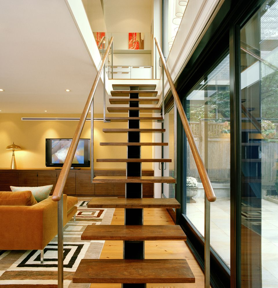Platt Dana Architects Renovation Addition Project In Brooklyn New Internal Stair Made With
