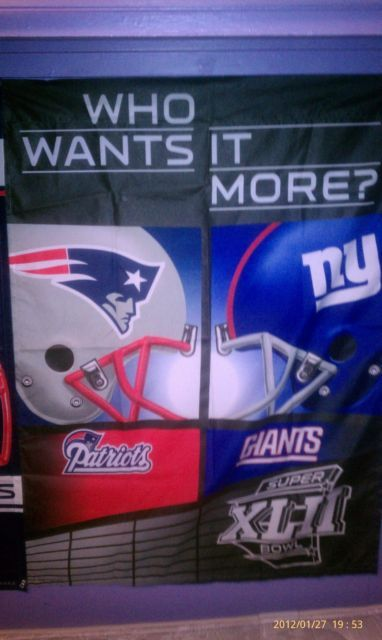 patriots vs giants $8.95