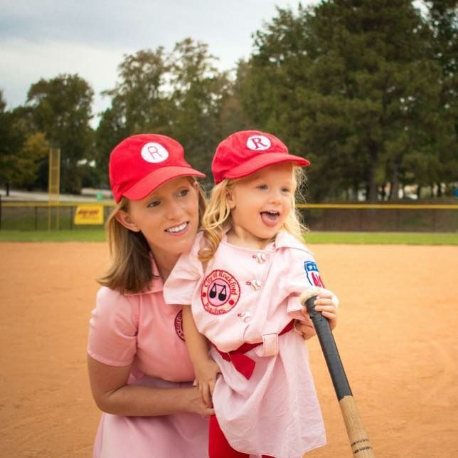 Mommy and Me Halloween Classic Rockford Peaches