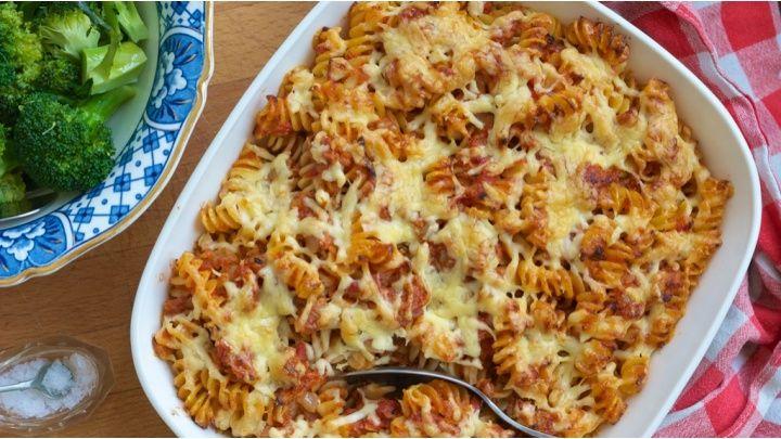 Tuna pasta bake weight watchers recipe