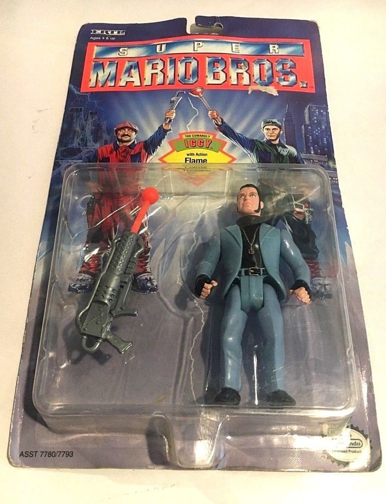 The Cowardly Iggy 1993 Super Mario Bros W Flamethrower Action