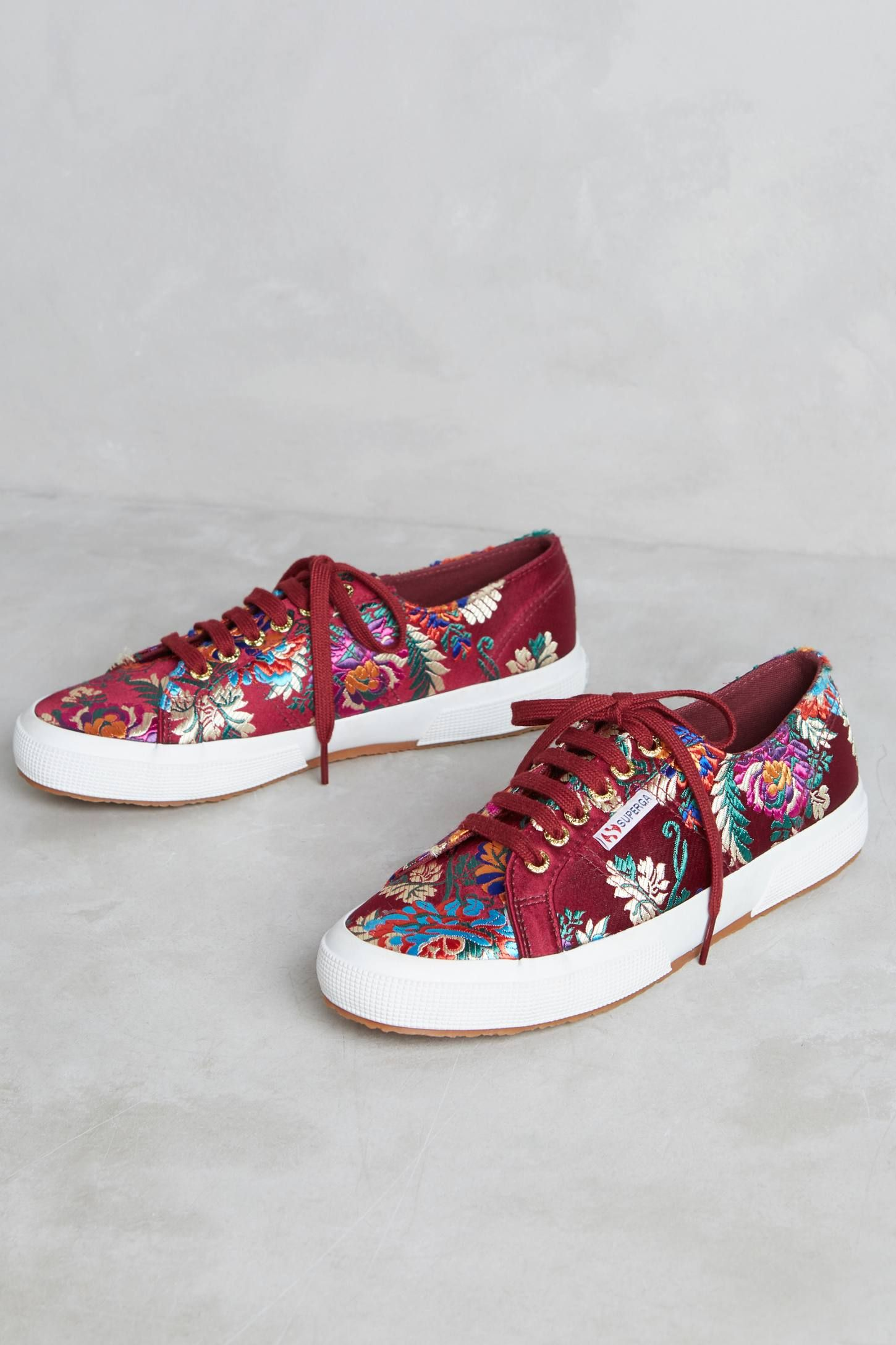 56c8bd3fb679 Slide View  1  Superga Embroidered Satin Sneakers