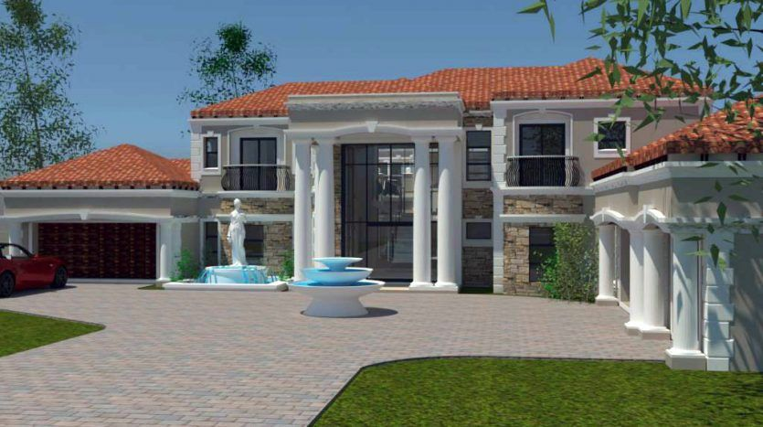 Luxury 5 Bedroom House Plans 866sqm Home Designs Nethouseplansnethouseplans 5 Bedroom House Plans Bedroom House Plans House Plan Gallery