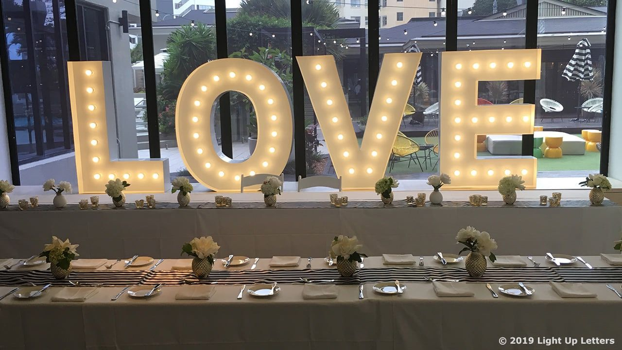 Light Up Letters At Events By Light Up Letters Qld Light Up
