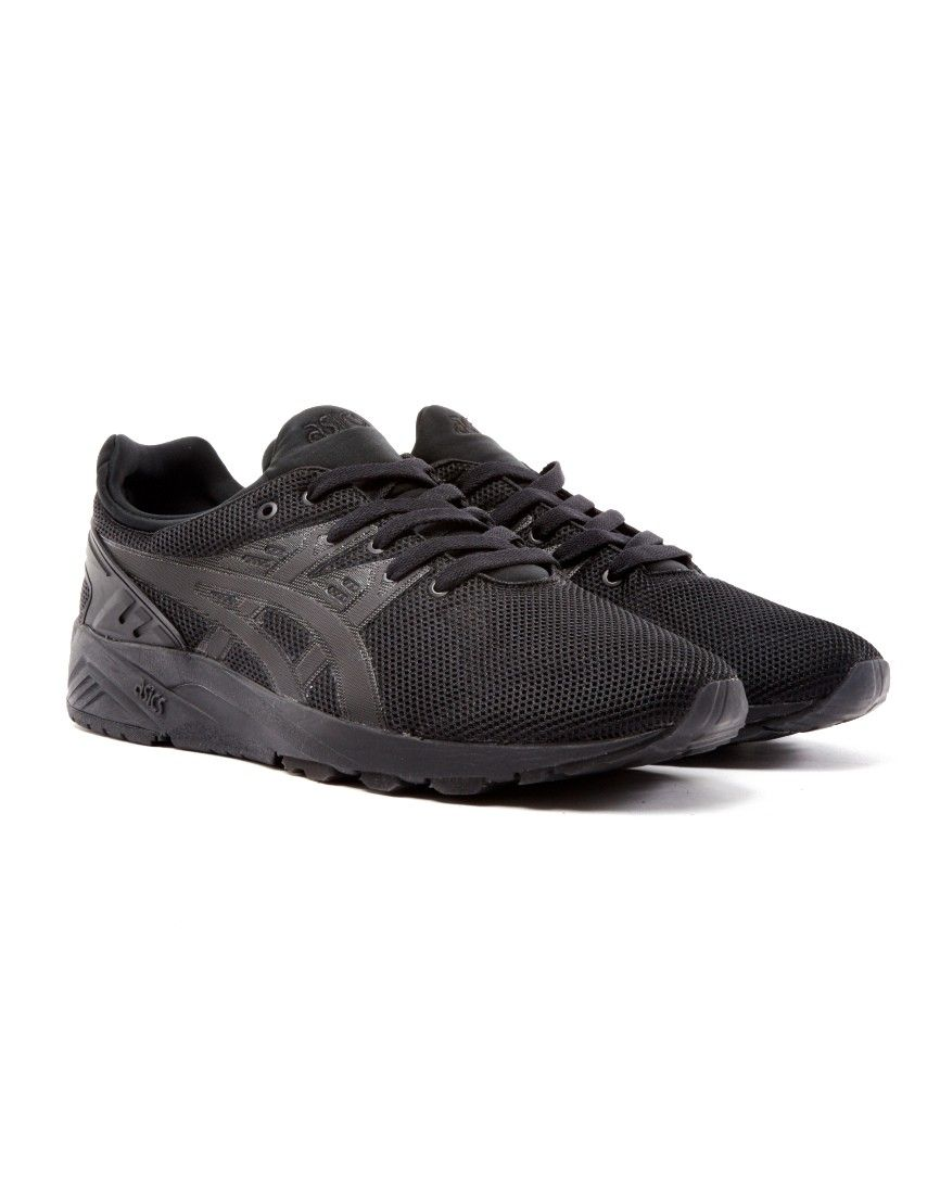 Asics Gel-Kayano Trainer Evo Black | Shop men's shoes and clothing at The  Idle