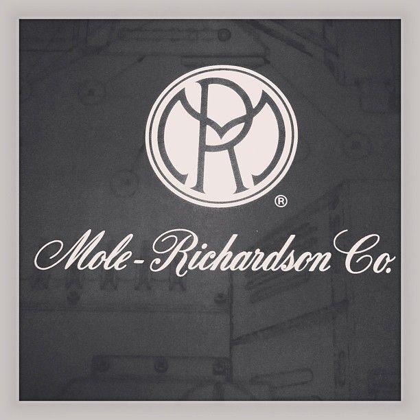 #molerichardson #logo